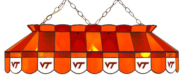 Virginia Tech Hokies Pool Table Lights