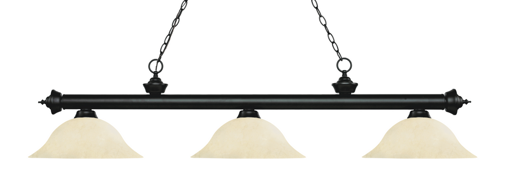Riviera Pool Table Light Black/Golden Mottle Shade - Gameroom Goodies Pool Table Lights