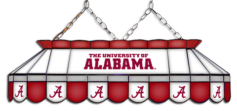 Alabama Crimson Tide MVP Pool Table Light - Gameroom Goodies Pool Table Lights