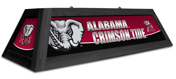 Alabama Crimson Tide Spirit Pool Table Light - Gameroom Goodies Pool Table Lights