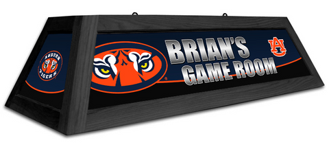 Auburn Tigers Custom Pool Table Light - Gameroom Goodies Pool Table Lights