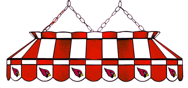 Arizona Cardinals NFL Stained Glass Pool Table Light - Gameroom Goodies Pool Table Lights