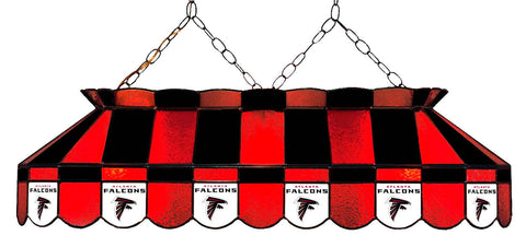 Atlanta Falcons NFL Stained Glass Pool Table Light - Gameroom Goodies Pool Table Lights