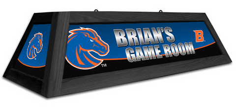 Boise State Broncos Custom Pool Table Light - Gameroom Goodies Pool Table Lights
