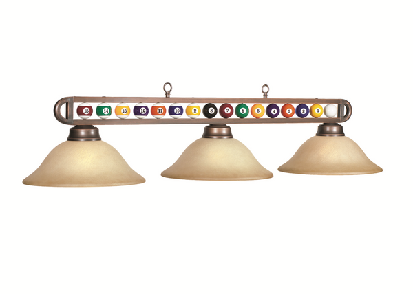 Billiard Balls Pool Table Light - Gameroom Goodies Pool Table Lights