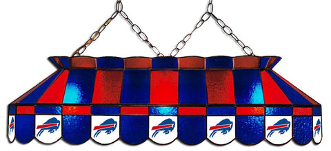 Buffalo Bills NFL Stained Glass Pool Table Light - Gameroom Goodies Pool Table Lights