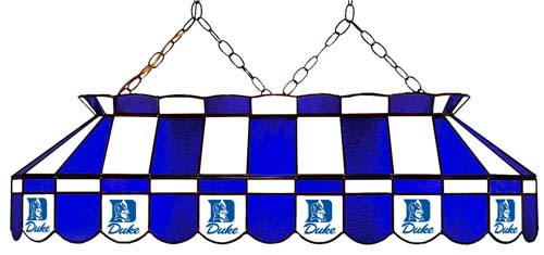 North Carolina Duke Blue Devils Stained Glass Pool Table Light - Gameroom Goodies Pool Table Lights