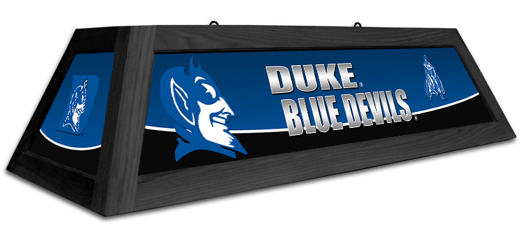 North Carolina Duke Blue Devils Spirit Pool Table Light - Gameroom Goodies Pool Table Lights