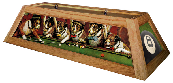 Dogs Playing Poker Pool Table Light - Gameroom Goodies Pool Table Lights