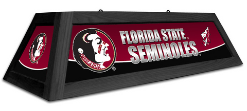 Florida State Seminoles Spirit Pool Table Light - Gameroom Goodies Pool Table Lights
