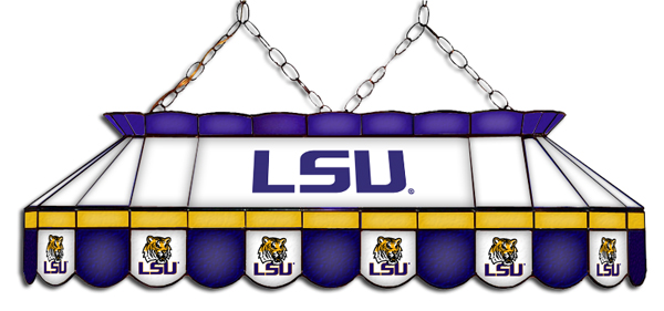 LSU Tigers MVP Pool Table Light - Gameroom Goodies Pool Table Lights