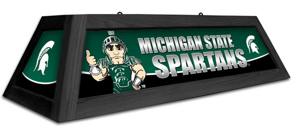 Michigan State Spartans Spirit Pool Table Light - Gameroom Goodies Pool Table Lights