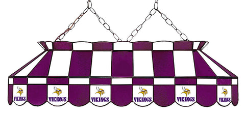 Minnesota Vikings NFL Stained Glass Pool Table Light - Gameroom Goodies Pool Table Lights