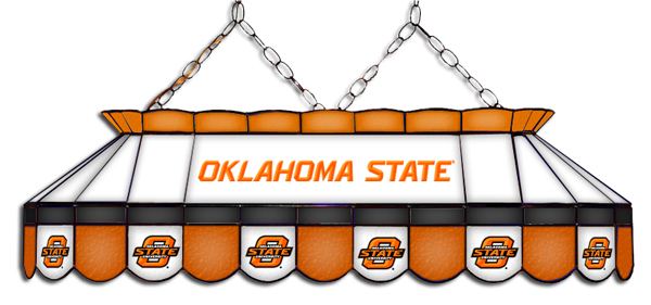 Oklahoma State Cowboys MVP Pool Table Light - Gameroom Goodies Pool Table Lights