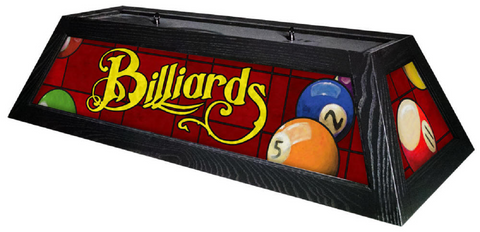 Classic Red Billiard Pool Table Light - Gameroom Goodies Pool Table Lights