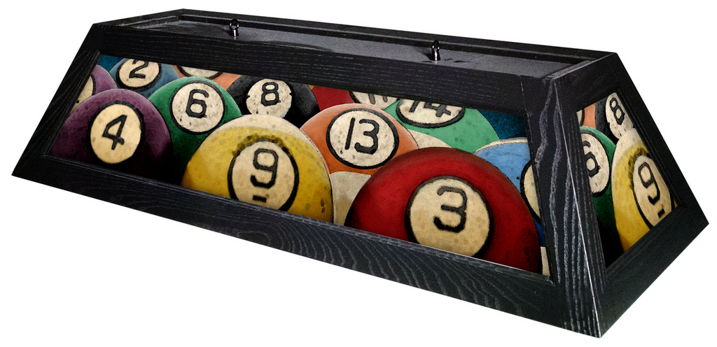 Rack EM Up Pool Table Light - Gameroom Goodies Pool Table Lights