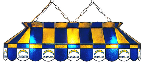 San Diego Chargers NFL Stained Glass Pool Table Light - Gameroom Goodies Pool Table Lights