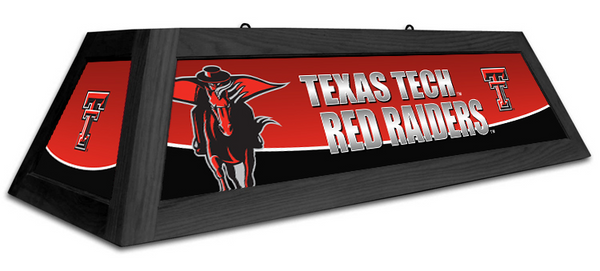 Texas Tech Red Raiders Spirit Pool Table Light - Gameroom Goodies Pool Table Lights