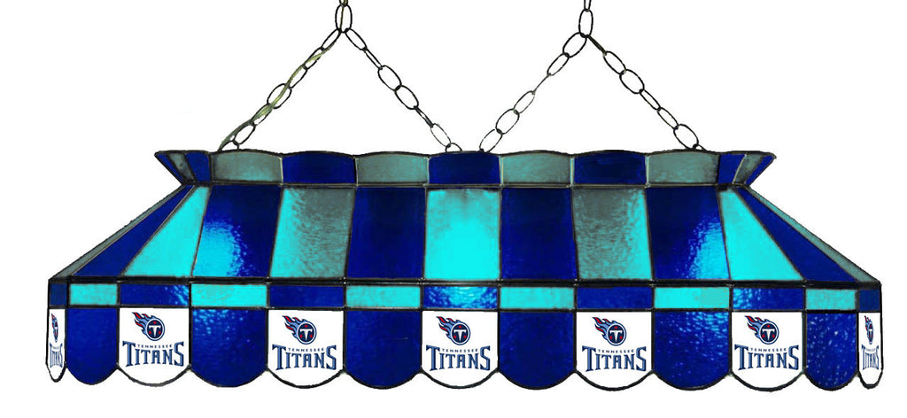 Tennessee Titans NFL Stained Glass Pool Table Light - Gameroom Goodies Pool Table Lights