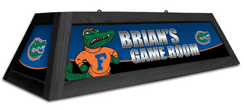Florida Gators Custom Pool Table Light - Gameroom Goodies Pool Table Lights