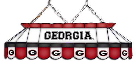 Georgia Bulldogs MVP Pool Table Light - Gameroom Goodies Pool Table Lights