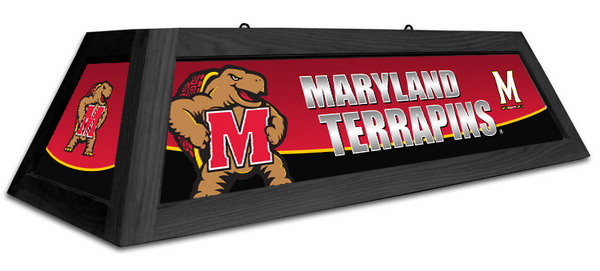 Maryland Terrapins Spirit Pool Table Light - Gameroom Goodies Pool Table Lights