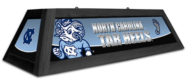 North Carolina Tar Heels Spirit Pool Table Light - Gameroom Goodies Pool Table Lights