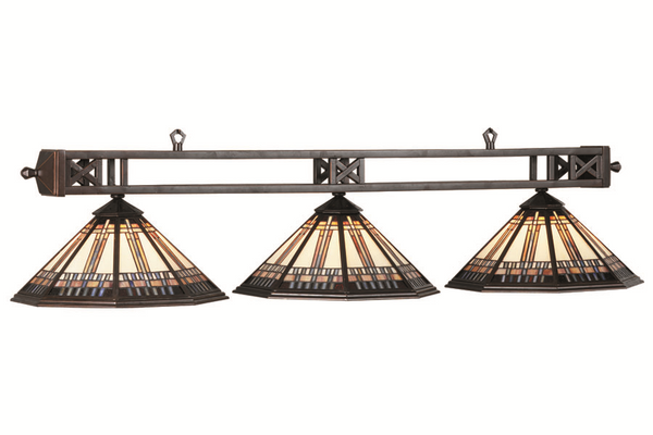 Winslow Pool Table Light Oil Rubbed Bronze Finish - Gameroom Goodies Pool Table Lights