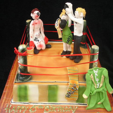 Boxing Ring Childrens Cakes