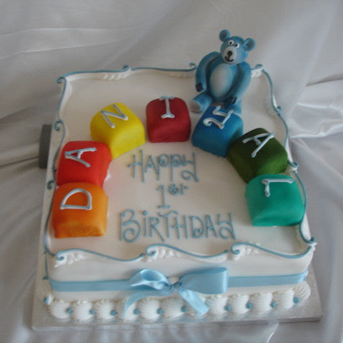 Teddy Bear Childrens Cake