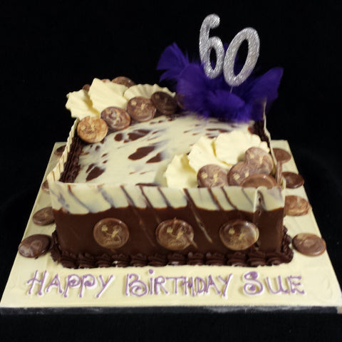 Chocolate Birthday Cake//