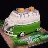 Campervan  Birthday Cake//