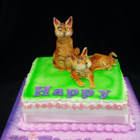 Cats Birthday Cake