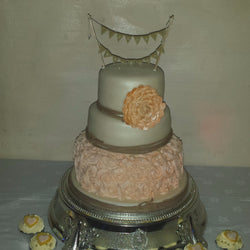Just Married Wedding Cake