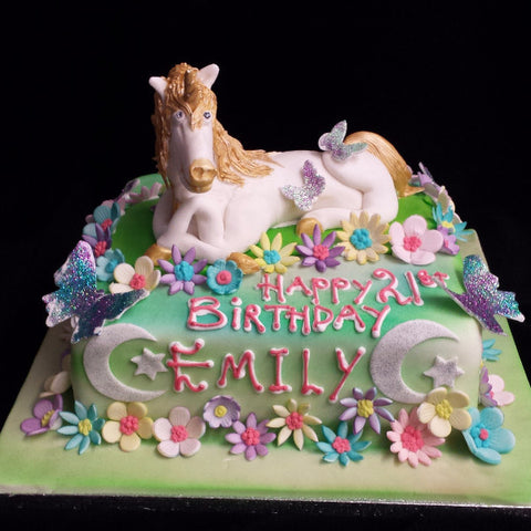 Unicorn Birthday Cake Celticcakes