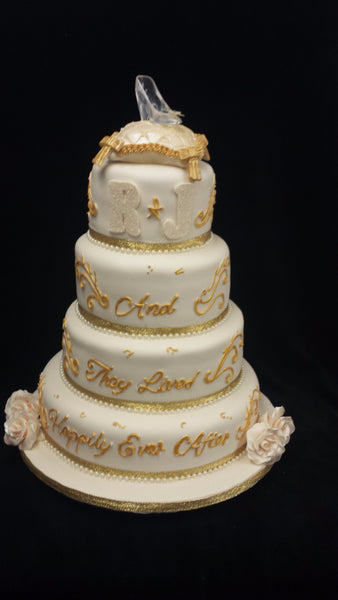 Cinderalla Wedding Cake