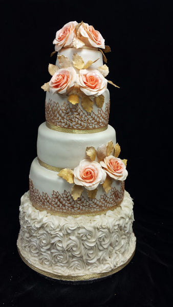 5 Tier  Wedding Cake