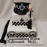 2 Tier Retirement Cake