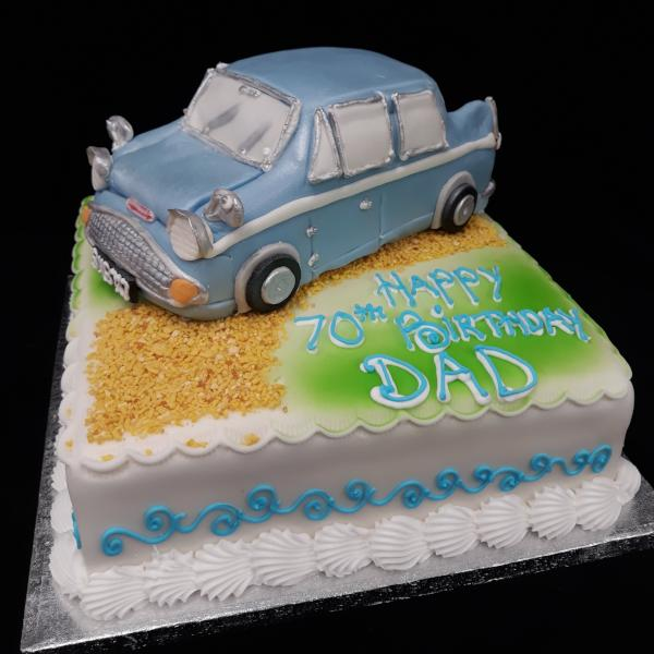 Ford Anglia  Birthday Cake