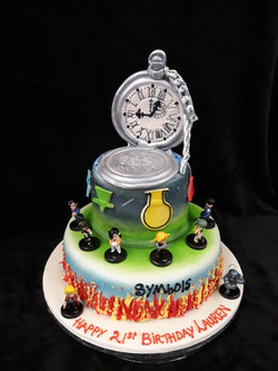 2 Tier  Alchemist  Birthday Cake