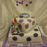 2 Tier Bear Birthday Cake