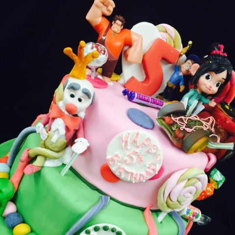 5th  Childrens Birthday Cake