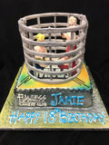 Cage Fighter  Birthday Cake