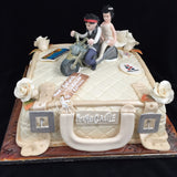 1 Tier Suitcase  Wedding Cake