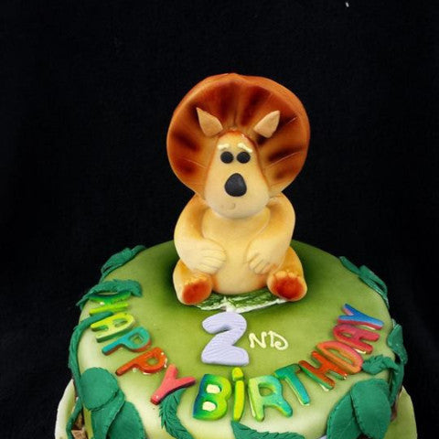 Lion King Childrens Birthday Cake