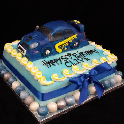 Sports car Birthday Cake