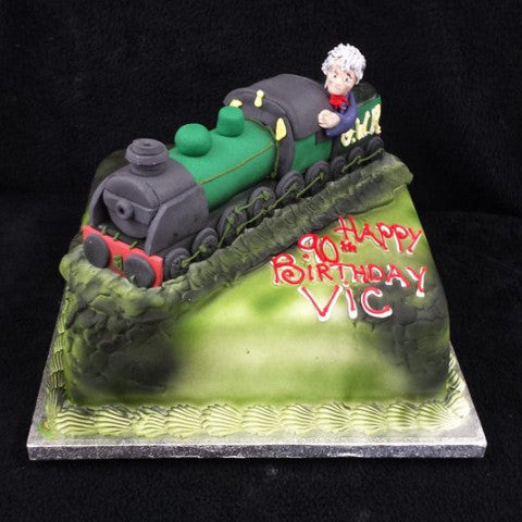 Train Driver Birthday Cake Celticcakes