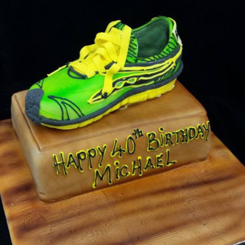 Trainer Birthday Cake