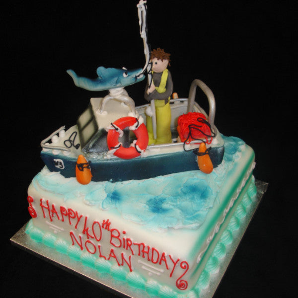 Childrens Boat Birthday Cake Celticcakes