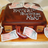 Briefcase  Birthday Cake